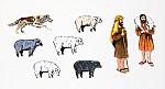 Parable of the Good Shepherd (Characters - Two Dimensional)