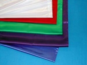 White Satin Altar Cloth for Sunday School Lessons