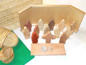 Wooden Jesus' Last Passover Sunday School Lesson