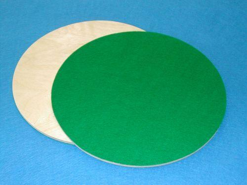 Two Wood with Felt Circles for Good Shepherd & Lord's Supper