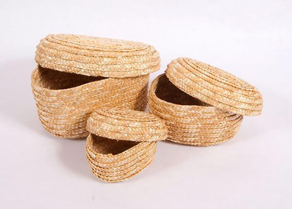 Set of 3 Nesting Baskets for Sunday School Lessons