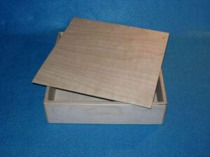 Wooden Box for Sunday School Lessons