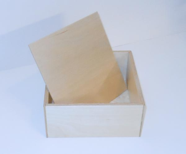 "Wooden 8"" Box for Sunday School Lessons"