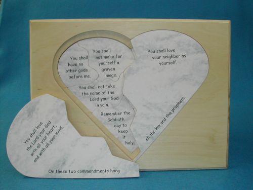 Puzzle of the Ten Commandments