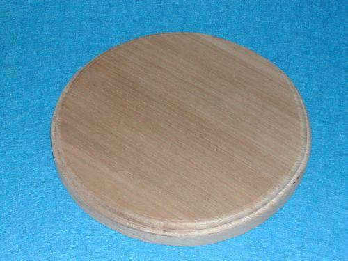 Wooden Round Wood Table for Sunday School Lessons
