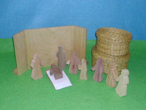 "Wooden Jesus Heals Two ""Daughters"" Sunday School Lesson"