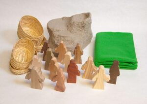 Wooden Transfiguration of Jesus Sunday School Lesson