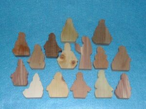 15 Multi-Wood Figures for Sunday School Lessons