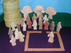 Wooden Too Afraid to Follow Jesus Sunday School Lesson