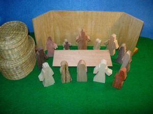 Wooden Jesus Appears to Thomas Sunday School Lesson