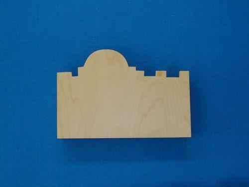 Wooden City Wall for Sunday School Lessons