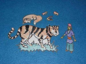 6 Character Pieces for Tiger and the Lame Fox Sunday School Lesson