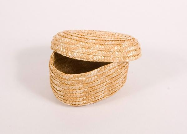 "6 1/2"" Basket for Wooden Figures for Sunday School Lessons"