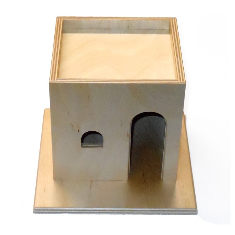 Wooden Tax Booth for Sunday School Lessons