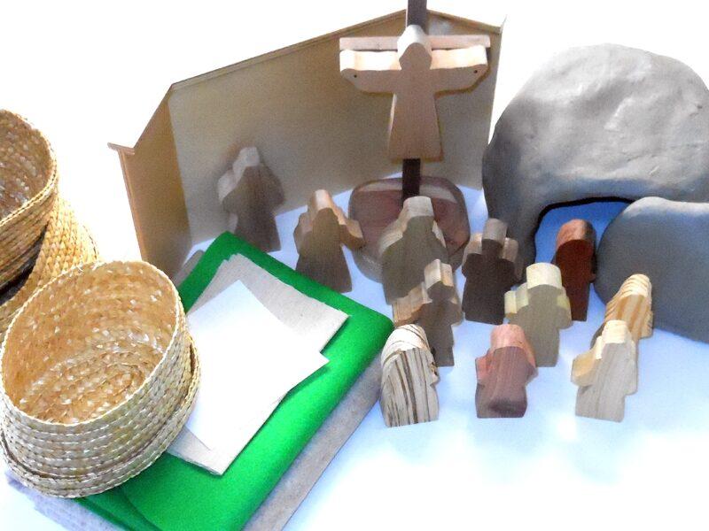 Wooden Jesus Dies & God Makes Jesus Alive Sunday School Lesson