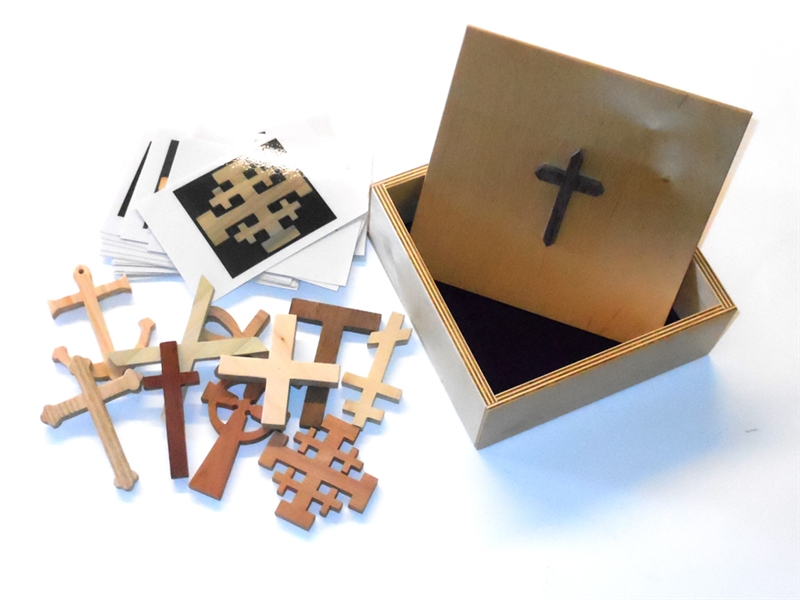 Wooden The Crosses Sunday School Lesson