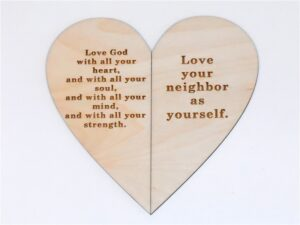 Commandment Heart Card