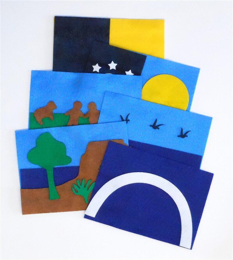 Felt Creation Card Kit Sunday School Lesson