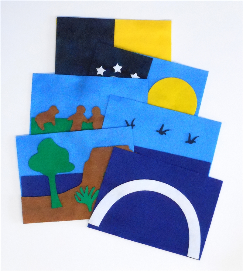 Felt Creation Card Kit Sunday School Lesson