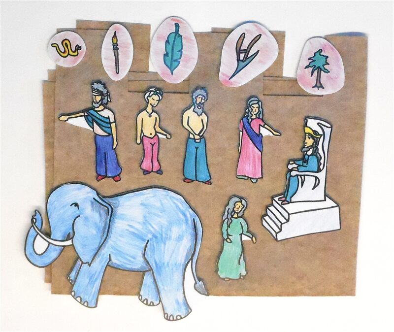 Wise People and the Elephant Sunday School Lesson
