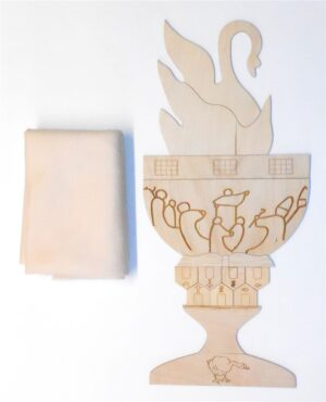 Wooden Jon Hus and the Flaming Chalice Sunday School Lesson