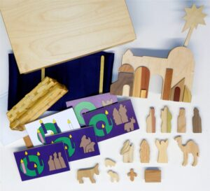 Wooden Mini Advent Sunday School Lesson