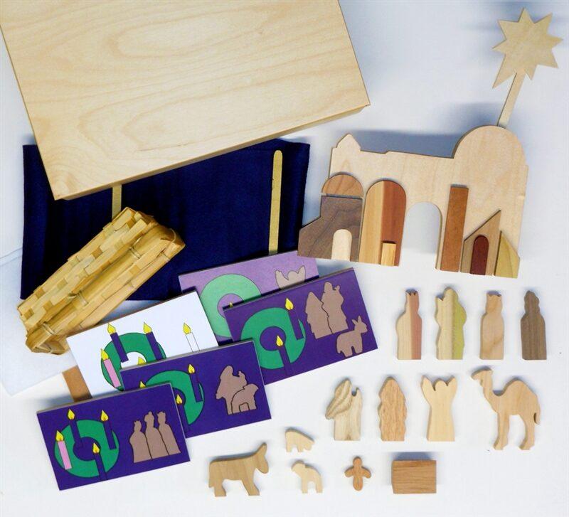 Wooden Mini Advent Sunday School Lesson
