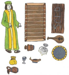 Parable of the Treasure (Laminated Color Prints )