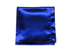 Blue Satin Altar Cloth for Sunday School Lesson