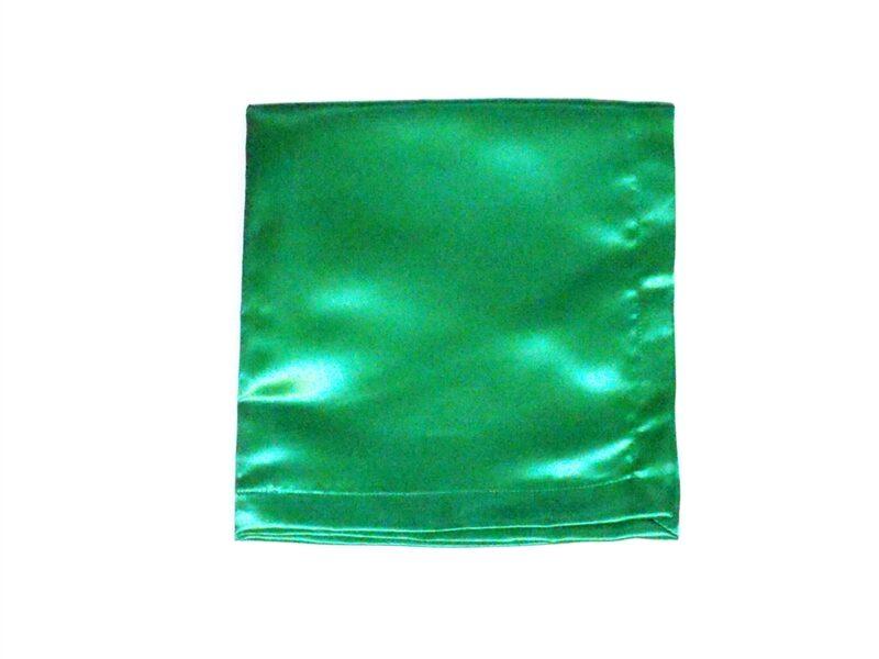 Green Satin Altar Cloth for Sunday School Lesson