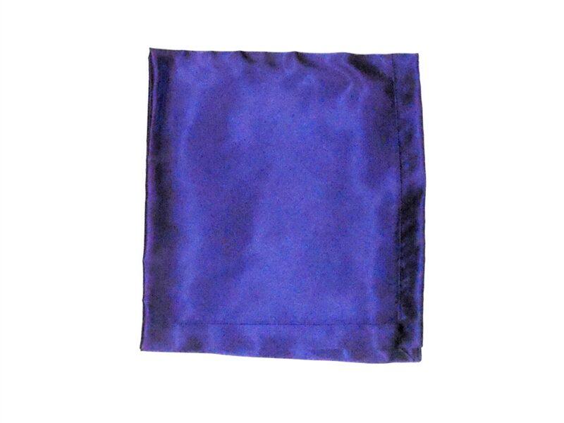 Purple Satin Altar Cloth for Sunday School Lesson