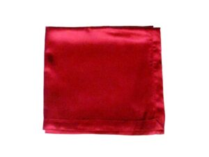 Red Satin Altar Cloth for Sunday School Lesson