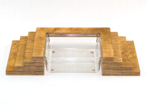 Wooden Platform with Baptismal Font Sunday School Lesson
