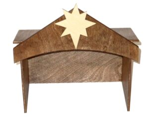 Wooden Stable for Sunday School Lesson