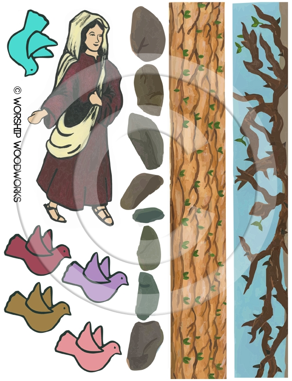 Parable of the Sower (Laminated Color Print)