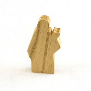 Wooden Priest Figure for Sunday School Lesson