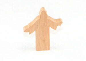 Wooden Jesus Figure for Sunday School Lesson