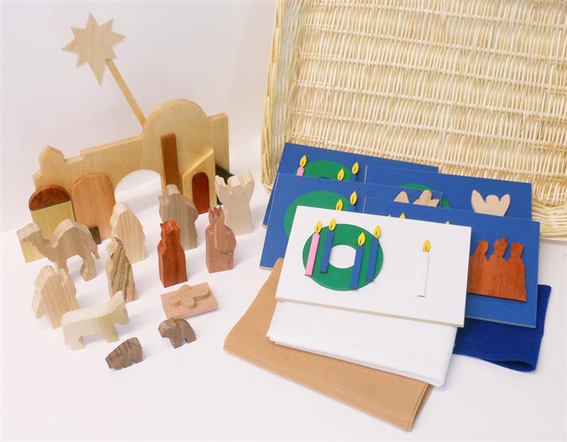 Advent - Multi-Wood (Blue) (complete)