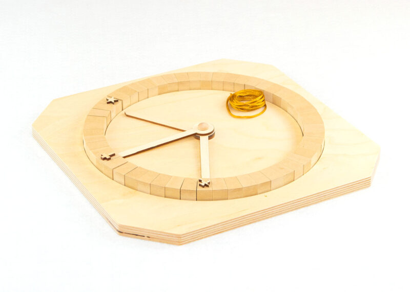 Wooden How the Church Tells Time Sunday School Lesson
