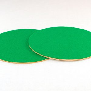 2 Wood with Felt Circles for Good Shepherd & Lord's Supper Sunday School Lesson