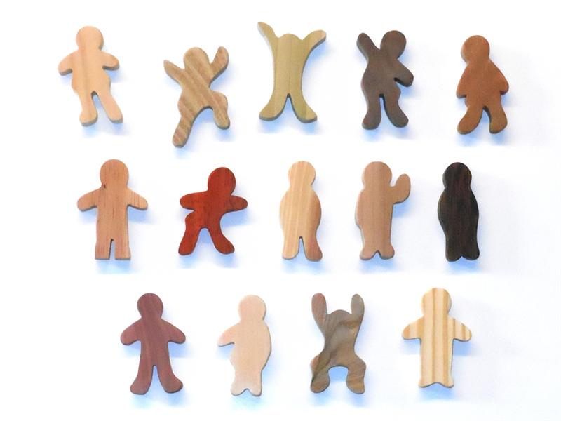 """Children of God - 2.5"""" Figures"""