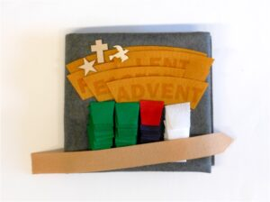 Small Felt Wall Hanging KIT