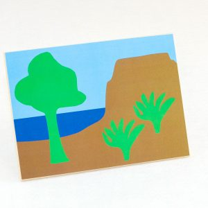 Wooden Creation Cards Sunday School Lesson