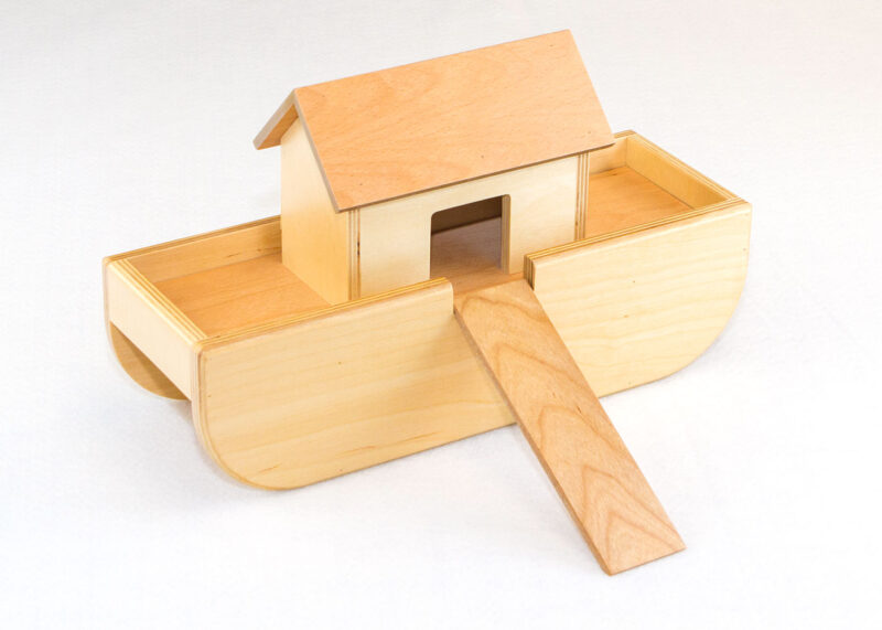 Wooden Ark for Sunday School Lesson
