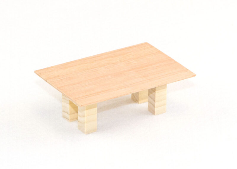 Wooden Small Table for Sunday School Lesson