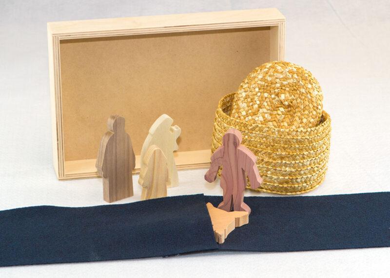 Wooden Jesus is Baptized Sunday School Lesson