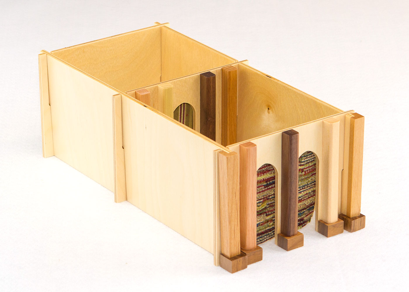 Wooden Tabernacle for Sunday School Lesson