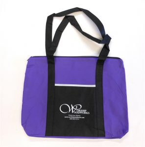 Worship Woodworks Tote Bag