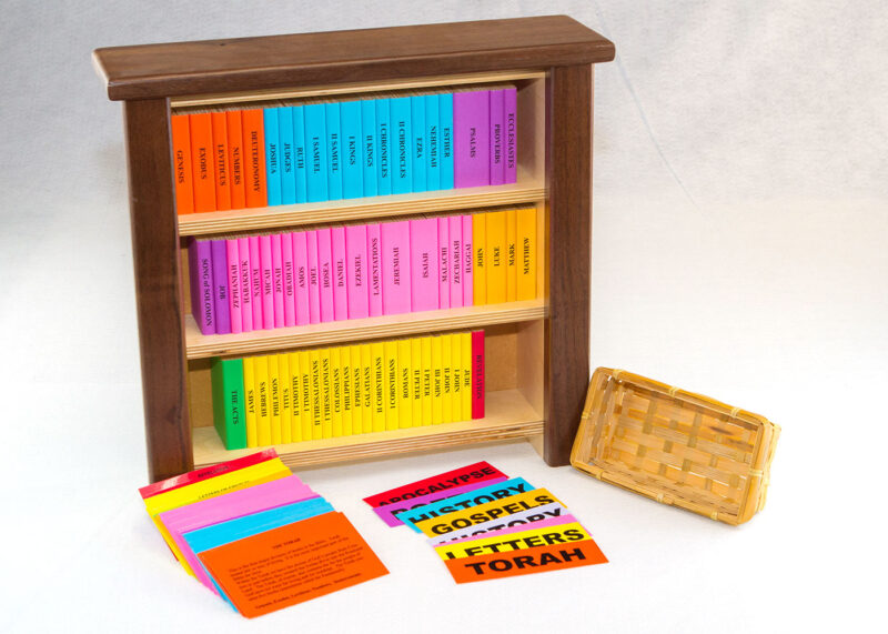 Wooden Books of the Bible Sunday School Lesson