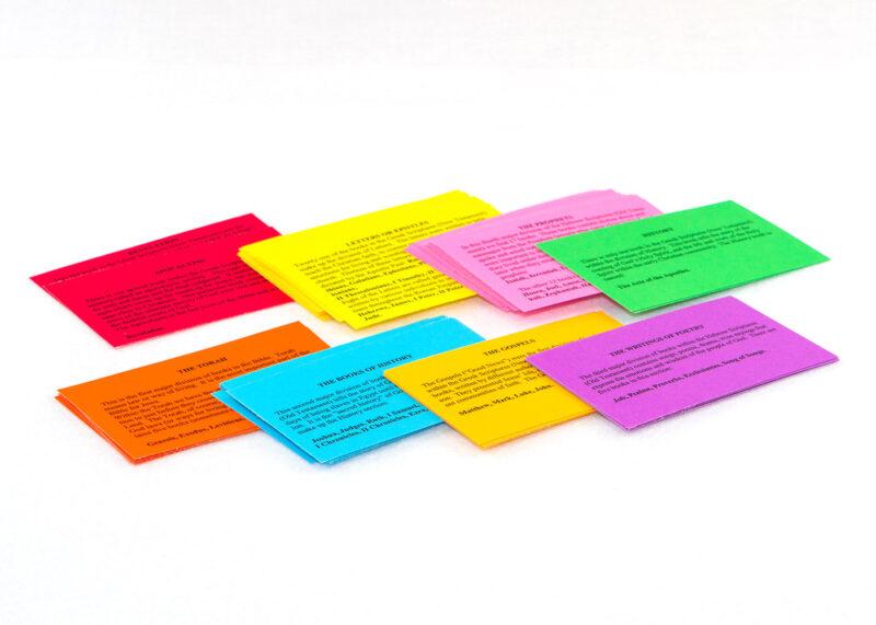 Summary Cards for Sunday School Lesson